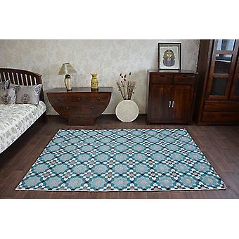 Teppich LISBOA 27206/754 Blumen Türkis