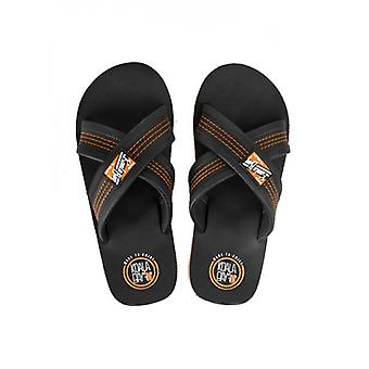 Black Pala Cool Surfer Flip flop