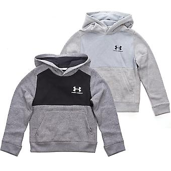 Under Armour Fleece Pull Over Kids Sports Hoodie Hoody Jacket