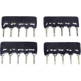TANCAP SIP-A05-471G Cermet resistor 470 Ω THT SIP 5 0.125 W 1 pc(s)