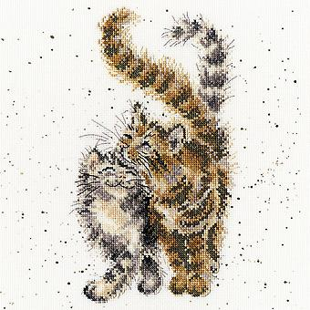 Bothy Threads Cross Stitch Kit - Feline Good