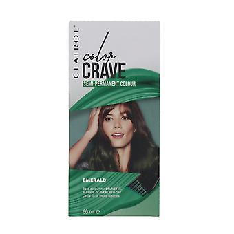 Clairol Color Crave 60ml Semi Permanent Hair Colour Emerald