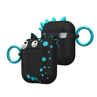 Case-Mate Airpods Case for Airpods 1 & 2 Spike- CreaturesPods, Black
