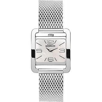 Michel Herbelin 17137-19B Women's 5th Avenue Milanese Strap Wristwatch