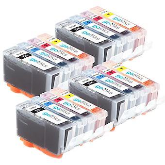4 conjuntos compatíveis de 4 cartuchos de tinta de tinta de impressora HP 364XL (HP364XL)