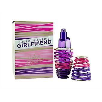 Justin Bieber Girlfriend Eau de Parfum 30ml Spray Pour Elle
