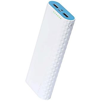 Powerbank TL-PB15600 for charging external devices with 15,600 mAh, 2 x 2.4 A USB output