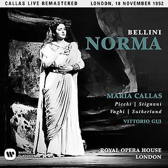 Callas*Maria - Bellini: Norma (London 18/11/1952) [CD] USA import