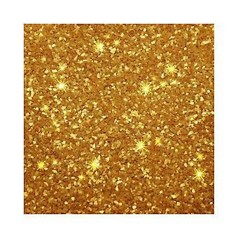 Rainbow Dust Edible Glitter - Goud -5g - Los
