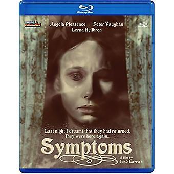 Symptoms [Blu-ray] USA import