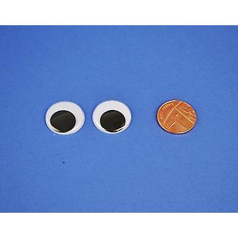 144 Craft Googly Eyes 20mm   Wiggly Wobbly Eyes