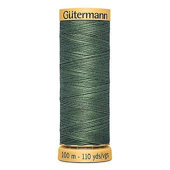 Gutermann 100% Natural Cotton Thread 100m Hand and Machine Colour Code  - 8724