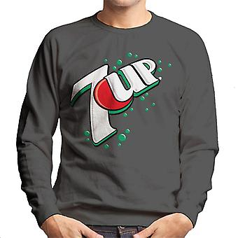 7up 00s Bubble Logo Men's Sweatshirt 7up 00s Bubble Logo Men 's Sweatshirt