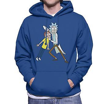 Rick e Morty Look Morty Men 's Camisola Encapuzada