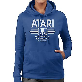 Atari Entertainment Technologies Women's Hooded Sweatshirt