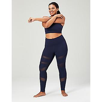 Brand - Core 10 Women's Icon Series - The Warrior Mesh Plus Size Leggi...