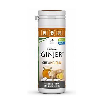 Ginjer chewing gum Honey 30g STEVIA 30 g