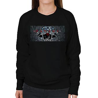 Mayans M.C. Motorcycle Club EZ Ezekiel Reyes David Flores Poster Artwork Women's Sweatshirt