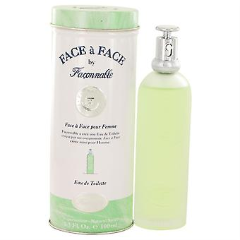 Face A Face Eau De Toilette Spray By Faconnable 100Ml