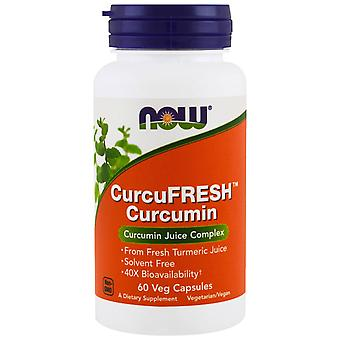 Now Foods, CurcuFresh Curcumin, 60 Veg Capsules