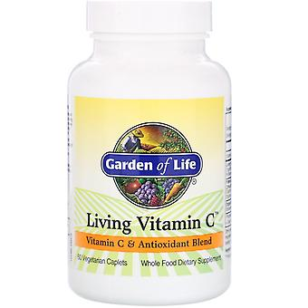 Garden of Life, Living Vitamin C, 60 Vegetarian Caplets