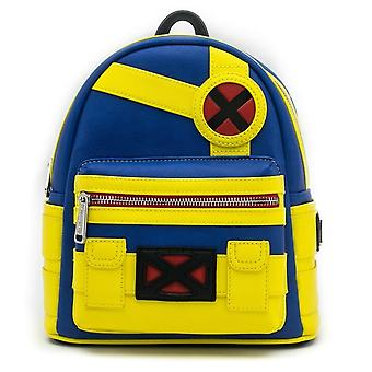 Loungefly Marvel X-men Cyclops Mini Backpack Superhero Bag Pu Leather Purse