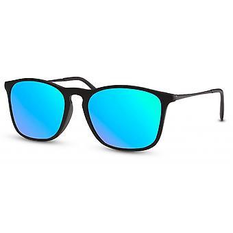 النظارات الشمسية الرجال المسافرين الرجال Cat.3 الأسود / الأزرق (CWI491)