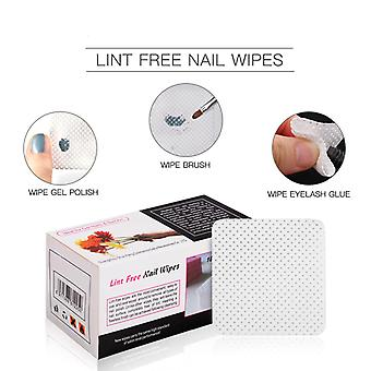 Lint Free Napkins, Wipes For Nail Art Remover - Manicure Wipes, Gel Polish