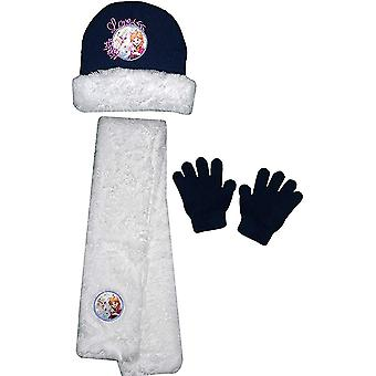 Disney frozen girls hat scarf and gloves sets fro4341hsg