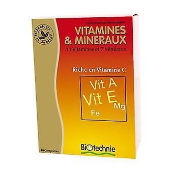 Vitamiinit ja kivennäisaineet 40 helmiä