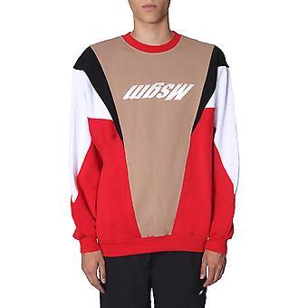 Msgm 2740mm7319579918 Mænd's Flerfarvet bomulds sweatshirt