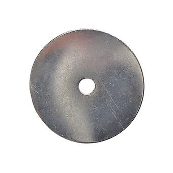Forgefix Flat Mudguard Washers ZP M6 x 50mm Bag 10 FORMWASH650M