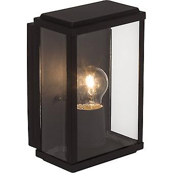 BRILLIANT Lampe Gaia Außenwandleuchte schwarz   1x A60, E27, 60W, geeignet für Normallampen (nicht enthalten)   Skala A++