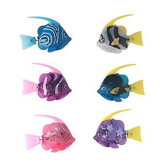 الأسماك الالكترونية، بطارية المنشط، لعبة حمام بالطاقة - داتينغ تانك تزيين