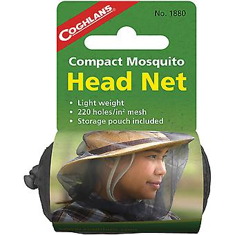Coghlan's Compact Mosquito Head Net Lightweight w/ Storage Pouch, Mesh 220 Holes