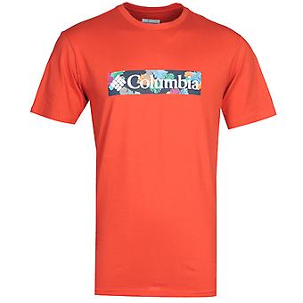 Columbia Rapid Ridge rotes T-Shirt