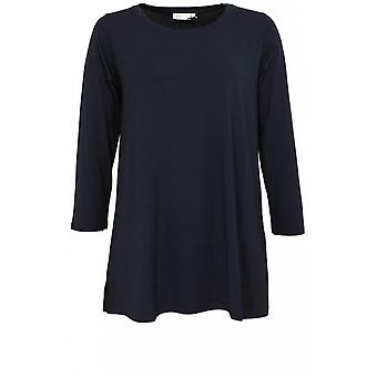 Masai Clothing Cilla Jersey Navy Top
