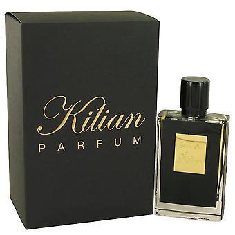 Kilian keltainen oud eau de parfum uudelleen täytettävä spray kilian 50 ml