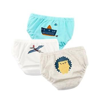 Baby Underwear Cartoon Briefs For -underpants Soft Cotton Panties