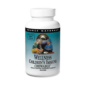 Source Naturals Children's Immune Chewable Wafer, 60 wafers