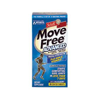 Schiff/Bio Foods Move Free Advanced Plus MSM, Vitamine D 80 Onglets