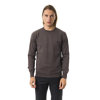 Uominitaliani Noce Crew Neck Grey Sweater