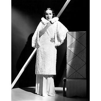 Dolores Del Rio 1934 Photo Print