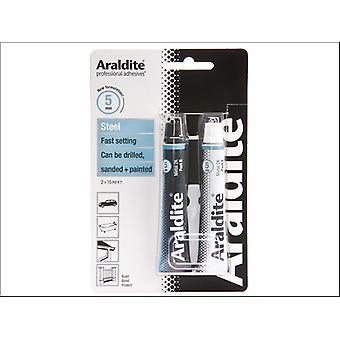 Araldite Steel Tubes 15ml x 2 ARA-400010