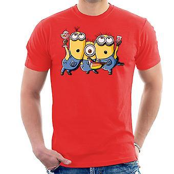 Halveksittava Minä Kätyrit Party Men's T-paita