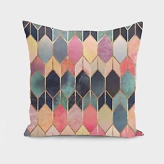 Lasitahrainen tyyny/tyynynpäällinen
