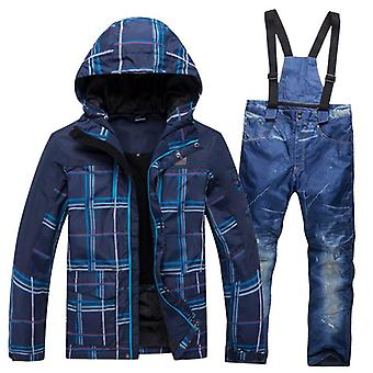 Winter Warm Waterproof Outdoor Sports Snow Jackets And Pants, Hot Ski Equipment