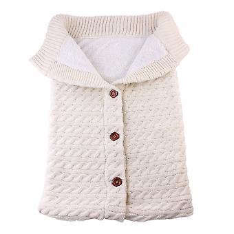 Newborn Baby Winter Warm, Swaddling Stroller Wrap Toddler Blanket Sleeping