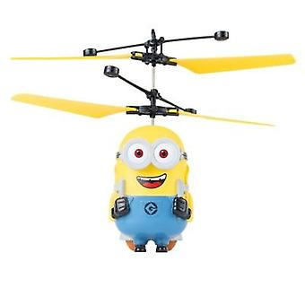 Newest Minions Drone Rc Helicopter Aircraft Mini Drone Fly Flashing Control Rc