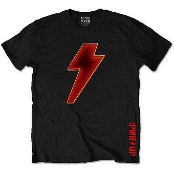 AC / DC Bolt Logo Power Up officielle Tee T-shirt Unisex